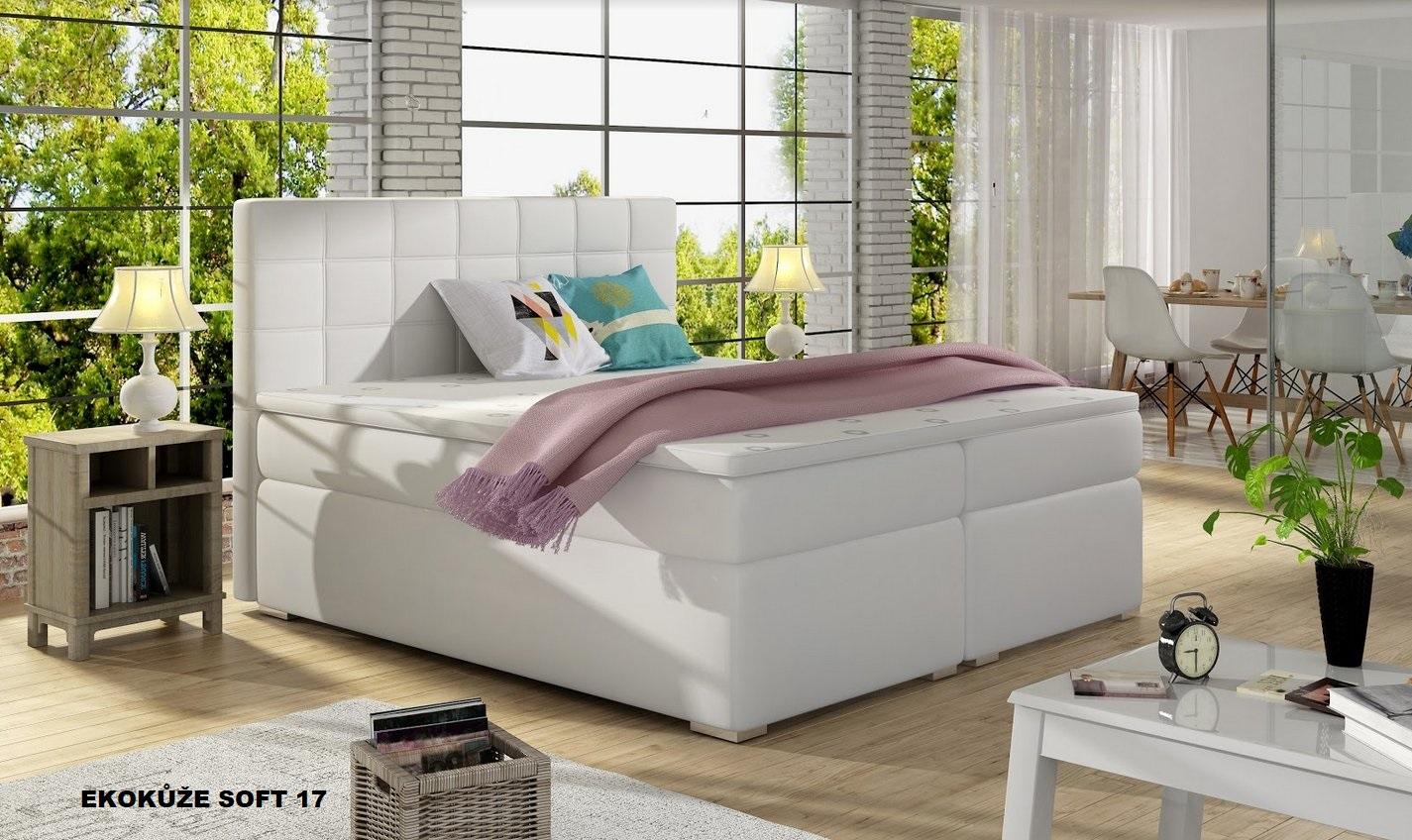 postele boxspring 180x200 boxspring aldo 180 200. Black Bedroom Furniture Sets. Home Design Ideas