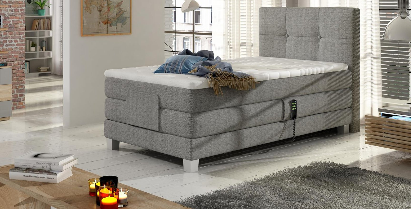 BOXSPRING BAHO ELECTRIC (100/200)