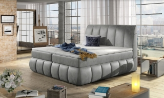 Boxspring HENRY 140/200 (Monolith 84)